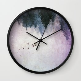 The Contradictory Flight Wall Clock