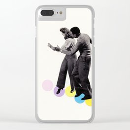 Dance Steps Clear iPhone Case