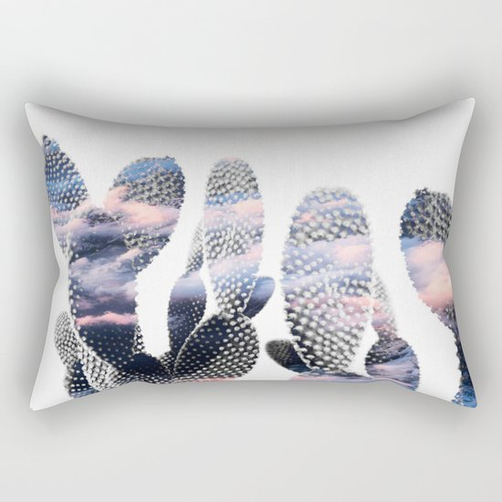 Pastelle Cacti Rectangular Pillow