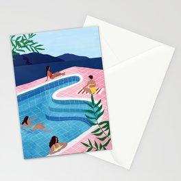 Pool ladies Stationery Cards