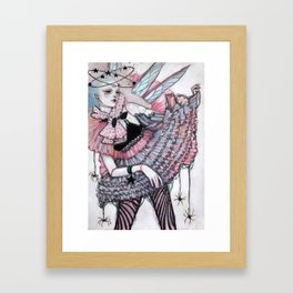 Faerie Doll Isabel Framed Art Print