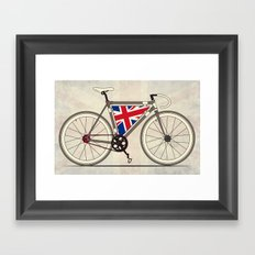 Love Bike, Love Britain Framed Art Print