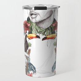 Liam Floral Travel Mug