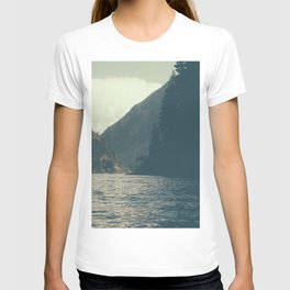 The darkness of Diablo Lake T-shirt