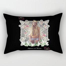 QUEEN OF WEED Rectangular Pillow