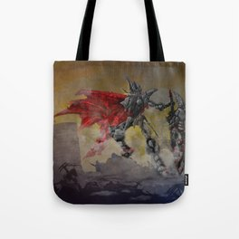 Chrome Knight Tote Bag