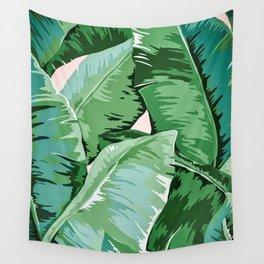 Banana leaf grandeur II Wall Tapestry