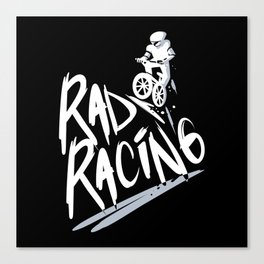 Rad Racing Vintage Canvas Print