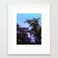 furry Framed Art Prints featuring Furry Fury by Eric Rasmussen
