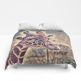 Impressive Animal - Giraffe Comforters