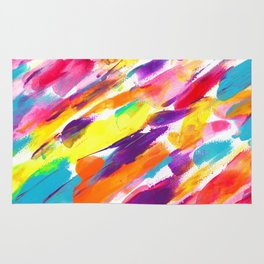 Fruity Pebbles Abstract Rug