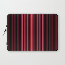 Red 3D Stripes Laptop Sleeve