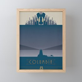 Bioshock Infinite: Columbia Framed Mini Art Print