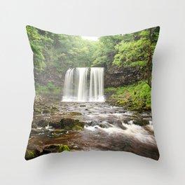 Brecon Beacons Throw Pillow