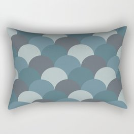 Blueprint Pattern N2 Rectangular Pillow