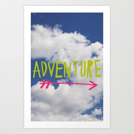 Adventure // Sky Art Print