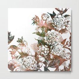 Plum Blossom Nebula Metal Print
