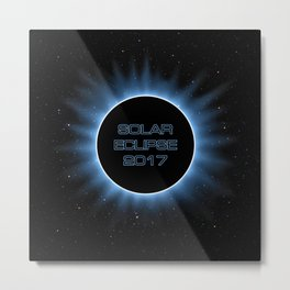 Solar Eclipse 2017 Metal Print