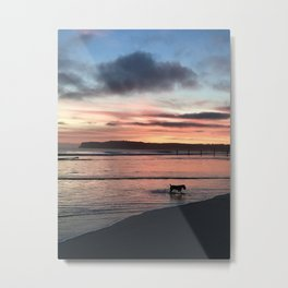 """Every dog has its day"" Metal Print"