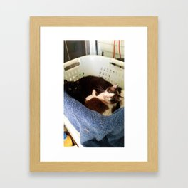 Were You in the Middle of Something? Framed Art Print