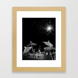 On the Front Framed Art Print