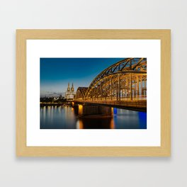 Road to the Dom Framed Art Print