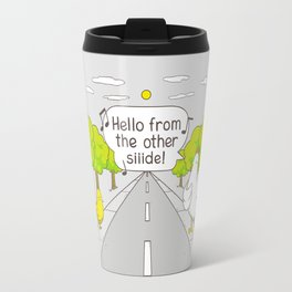 Why Did the Chicken Cross the Road? Travel Mug