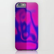 Blue Color Leak Slim Case iPhone 6s