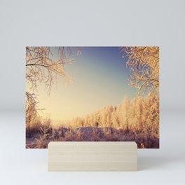 Winter Serenade Mini Art Print