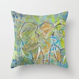 She is Strength Throw Pillow