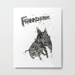 Frankenweenie Disneys Metal Print