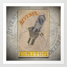 LOS REVENUE IGNITOR Art Print