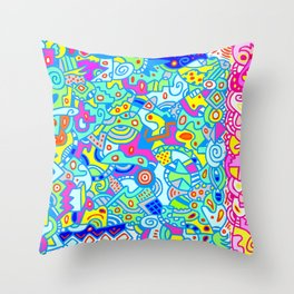 Mojo Magic Throw Pillow
