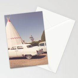 Sleep at the Wigwam Stationery Cards