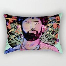 San Curly Rectangular Pillow