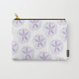 Mermaid Currency - Purple Sand Dollar Carry-All Pouch
