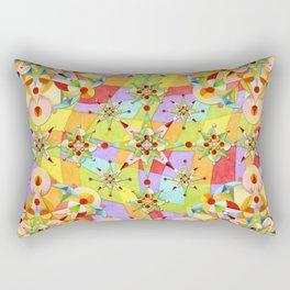 Rainbow Sparkles Rectangular Pillow