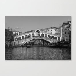 Rialto Bridge, Venice Canvas Print
