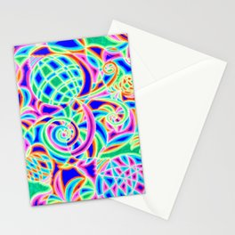 Neon 2 Stationery Cards