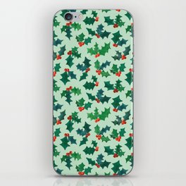 Holly Jolly - Winterberry iPhone Skin