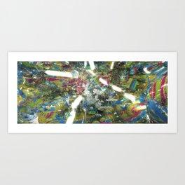 Underworld Paradise Art Print