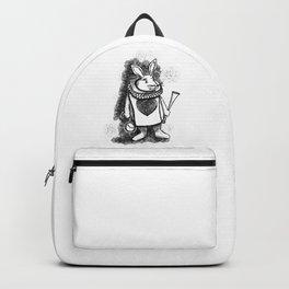 White Rabbit by Coreyartus Backpack