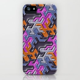 Geometrix 112 iPhone Case