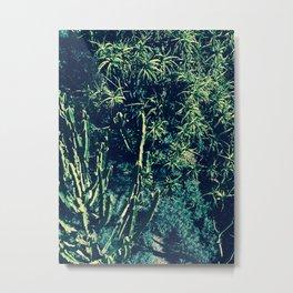 Getty Green Metal Print