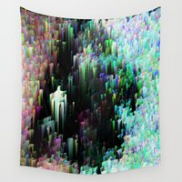 drums Wall Tapestries featuring Silk Spectrum by Alix Rumble
