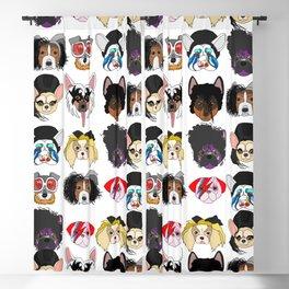 Pop Dogs Blackout Curtain