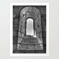 Medieval Window Art Print