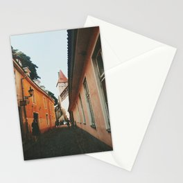 Old town of Tallinn Stationery Cards