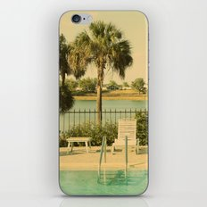 Lolita's Poolside Vacation - Beach Art  iPhone & iPod Skin