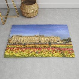 Buckingham Palace London Panorama Rug